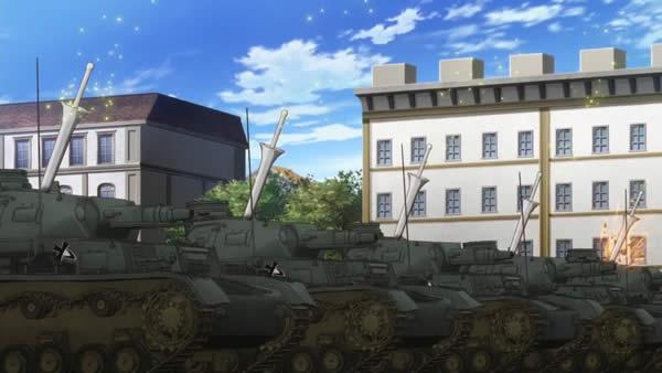 終末のイゼッタ 対戦車ランス 4号戦車