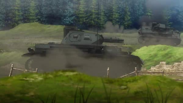 終末のイゼッタ 4号戦車 短砲身 ゲルマニア