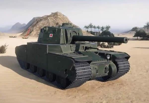 WoT 五式重戦車 日本 Tier10 重戦車