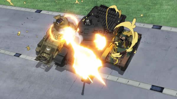ガールズ&パンツァー センチュリオン 89式中戦車 95式軽戦車 サンドイッチ