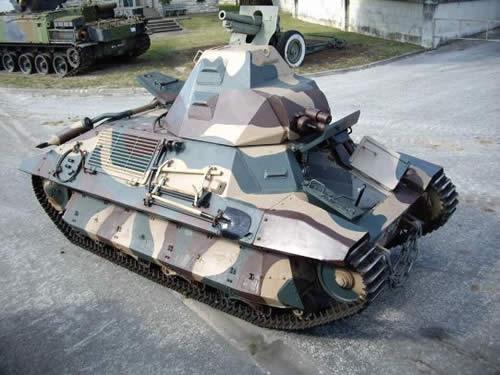 FCM 36 フランス 軽戦車