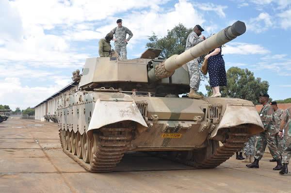 オリファントMk 1B 戦車 南アフリカ共和国
