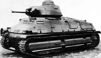 ソミュアS35 フランス 中戦車