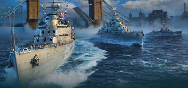 WoWS イギリス 巡洋艦