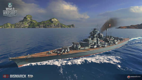 WoWS ビスマルク ドイツ Tier8 戦艦