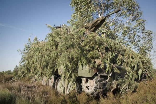 カモフラージュネット 戦車
