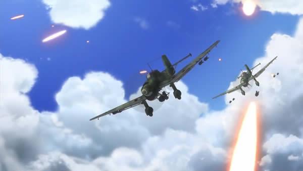 終末のイゼッタ Ju87 スツーカ 対地攻撃