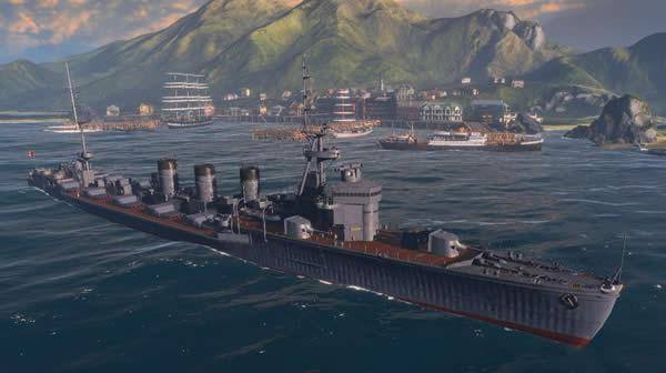 WoWS 北上 重雷装巡洋艦