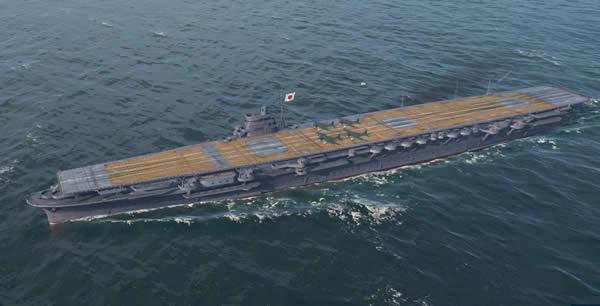 WoWS 翔鶴 日本 Tier8 空母