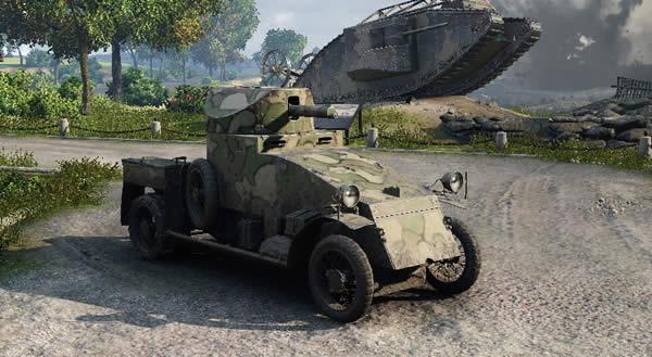 WoT ランチェスター装甲車