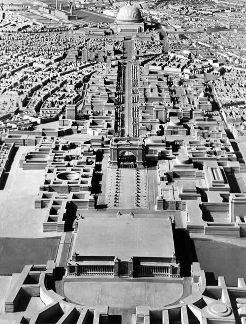 世界首都ゲルマニア 模型