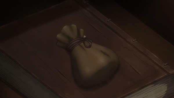 終末のイゼッタ ジークの引き出しの小袋 赤い石