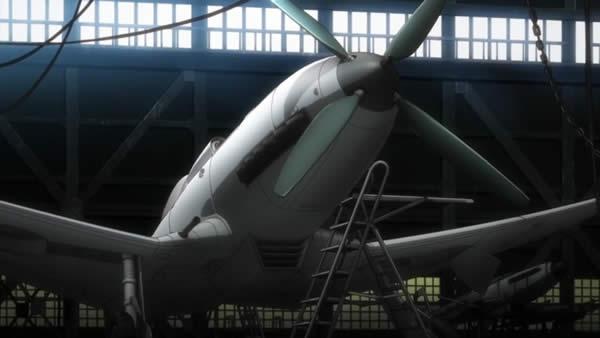 終末のイゼッタ バスラー 新型機 He112 (?)