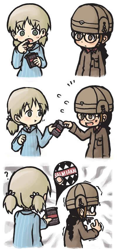 ガールズ&パンツァー 福田 アキ 漫画