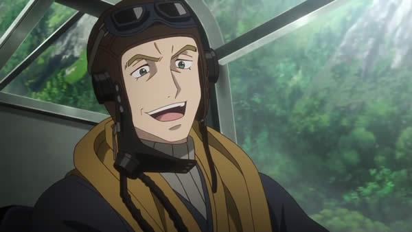 終末のイゼッタ ブリタニア空軍 グローマン中佐