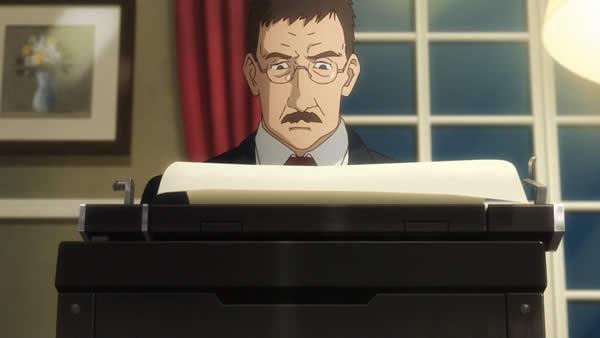 終末のイゼッタ アトランタ合衆国 大使 タイプライター