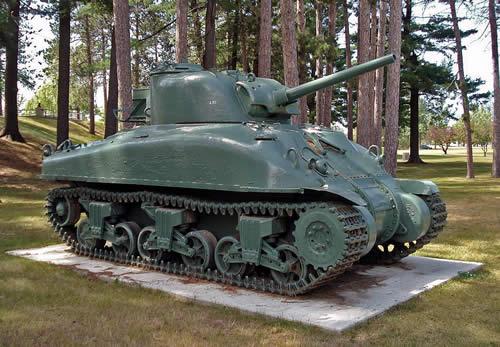 グリズリー巡航戦車 カナダ