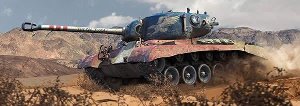 T26E5 Patriot アメリカ Tier8 課金重戦車