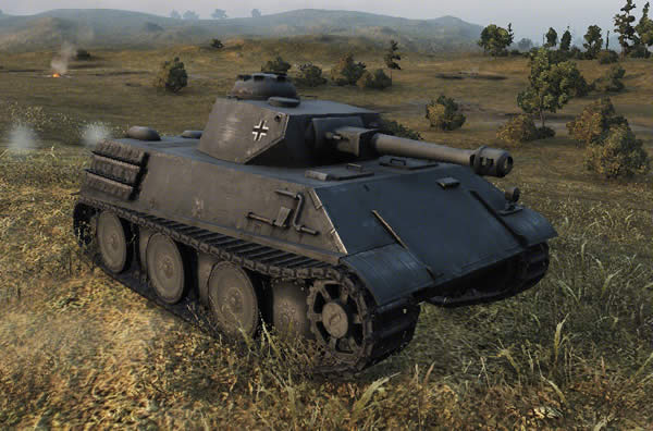 WoT VK 28.01 ドイツ Tier6 軽戦車