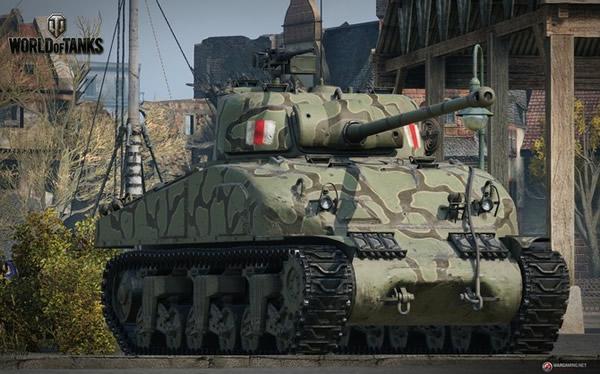 シャーマン・ファイアフライ イギリス Tier6 中戦車