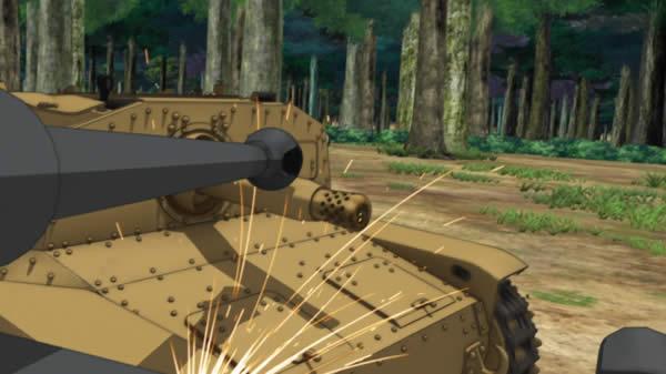 ガールズ&パンツァー 3号突撃砲対M41型セモヴェンテ