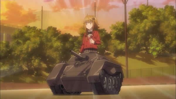 ファンタジスタドール 戦車