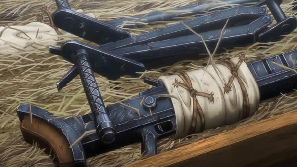 終末のイゼッタ 対戦車ライフル 分解 輸送