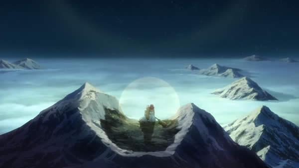 終末のイゼッタ イゼッタ フィーネ 山の頂上でデート もたれかかる