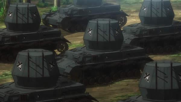 終末のイゼッタ ヴィルベルヴィント 対空戦車