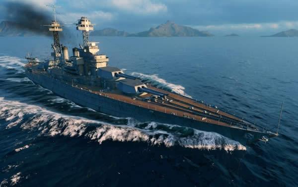 WoWS コロラド アメリカ Tier7 戦艦