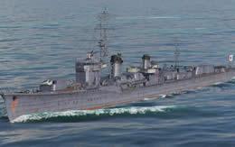 WoWS 白露 日本 Tier7 駆逐艦 サムネイル