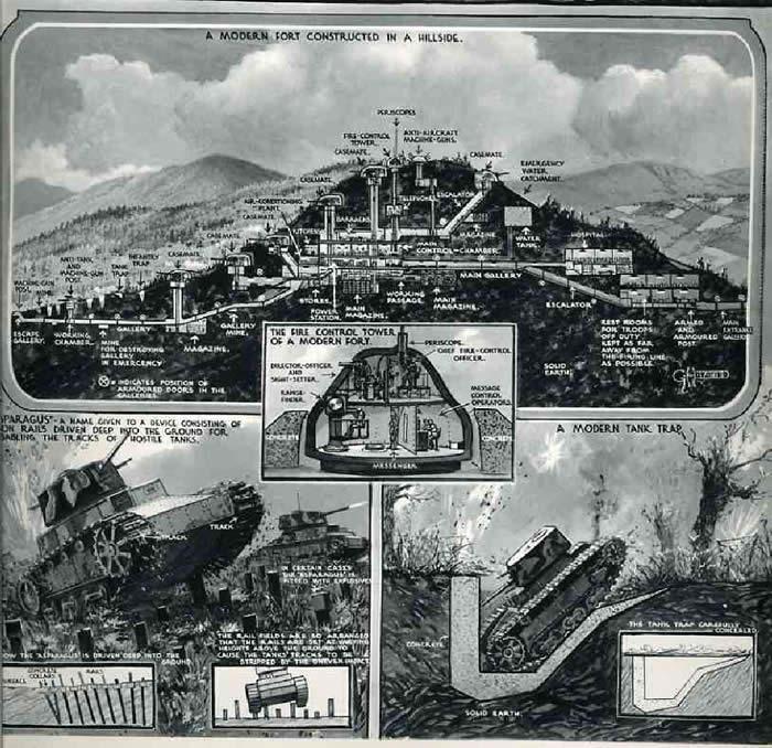 マジノ線 フランス 地下要塞