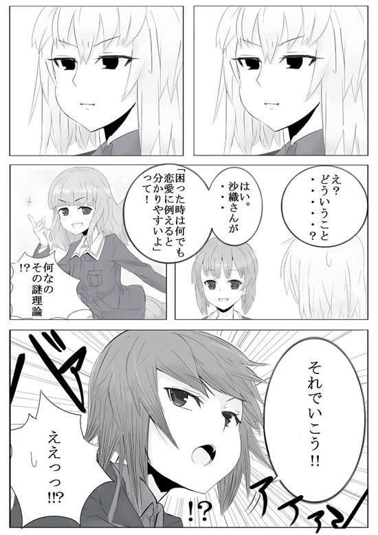ガールズ&パンツァー 作戦名命名漫画  02