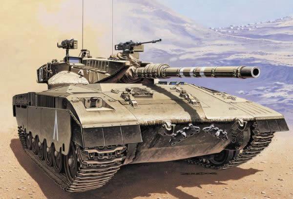 メルカバ Mk.1 イスラエル 戦車