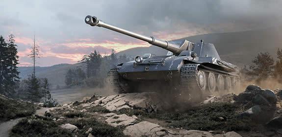 WoT クルップ・シュタイアー製ヴァッフェントレーガー ドイツ Tier7 課金駆逐戦車