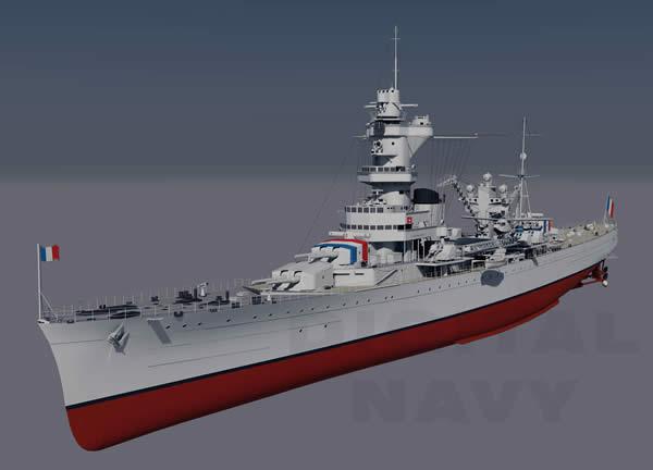 アルジェリー フランス 重巡洋艦