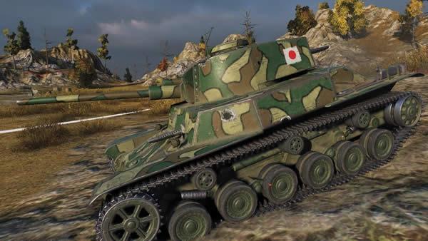 WoT 五式軽戦車 ケホ Tier4 日本 軽戦車