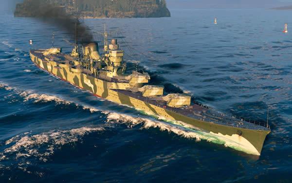 最上 日本 Tier8 巡洋艦