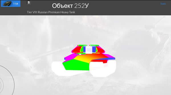 WoT 330heat Object 252U に有効なポイント