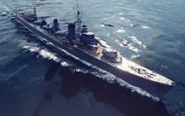 WoWS 島風 Tier10 日本 駆逐艦 サムネイル