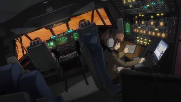 ガールズ&パンツァー スーパーギャラクシー 操縦室 アリサ