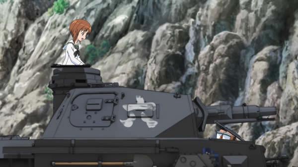 ガールズ&パンツァー 西住みほ 武部沙織 戦車の車内はカーボンでコーティングされてるから大丈夫だよー