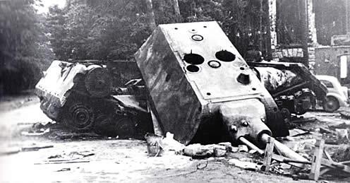 マウス ドイツ 超重戦車 破壊された状態