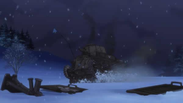ガールズ&パンツァー アヒルさんチーム 満身創痍 八九式中戦車