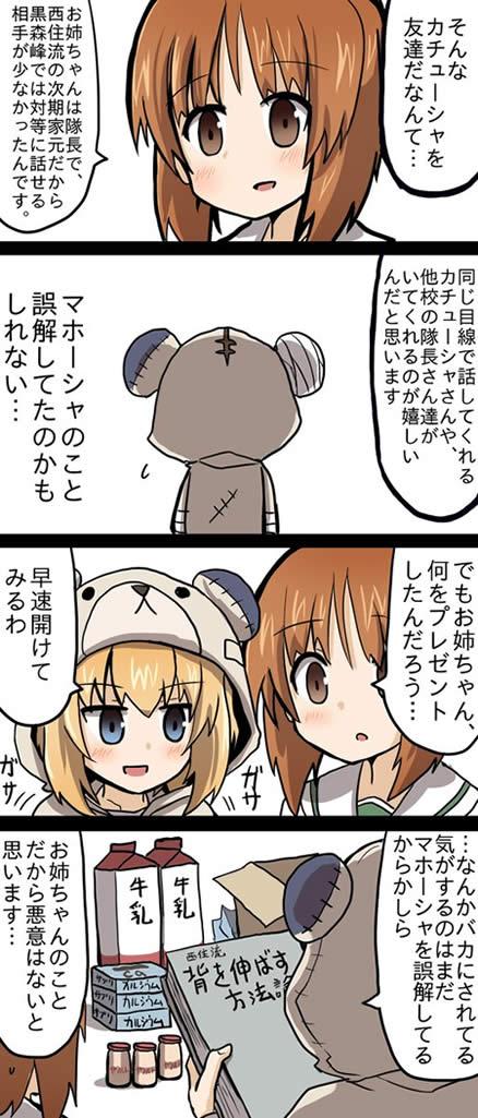 ガールズ&パンツァー カチューシャ 誕生日 漫画 03