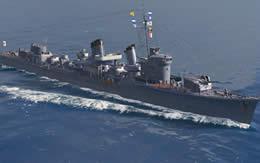 WoWS 暁 日本 Tier7 駆逐艦 サムネイル