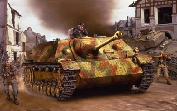IV号駆逐戦車 ドイツ イラスト