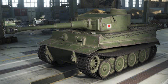 WoT 六号重戦車 タイガー ティーガー