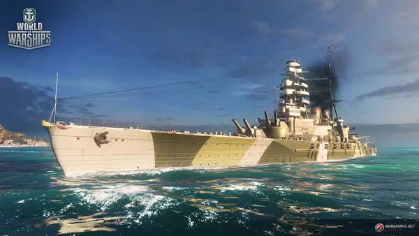 WoWS 陸奥 日本 Tier6 課金戦艦