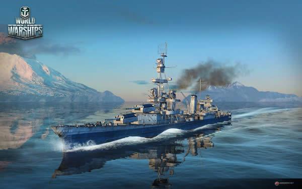 WoWS ペンサコーラ Tier7 アメリカ 巡洋艦